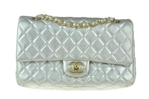 Chanel Classic Lambskin Double Flap Shoulder Bag