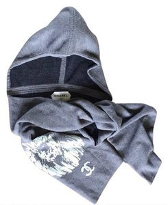 Chanel Cashmere Hooded Scarf