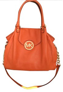 Michael Kors Satchel in Tangerine