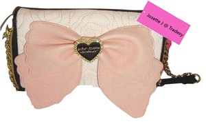 Betsey Johnson Flap Closure Oversized Wallet Cross Body Bag