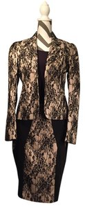 Kardashian Kollection Lace Panelled Skirt Style - KK-F12-121 PONTI BLAZER Style KK-F-12-152