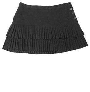 BCBGMAXAZRIA BCBGMAXAZRIA Black Mini-skirt