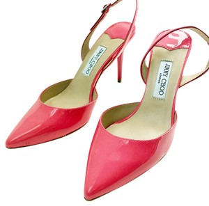Auth Jimmy Choo pink pump in 38 new hot pink Pumps