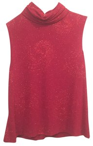 Alex Evenings Top Red