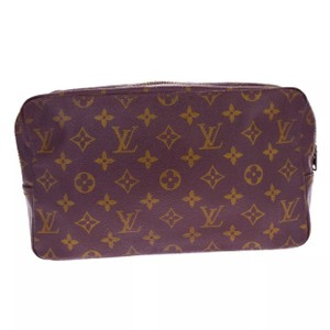 Louis Vuitton trousse 28 monogram pochette pouch