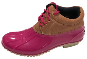 Tommy Hilfiger pink Boots