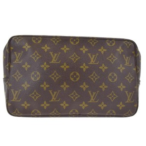 Louis Vuitton trousse 28 monogram large pouch pochette