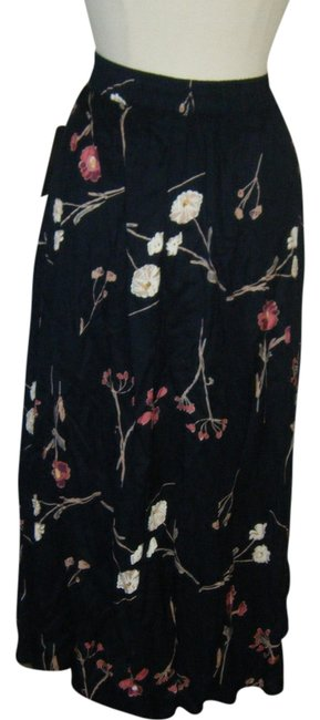 Expressions Maxi Skirt NAVY BLUE