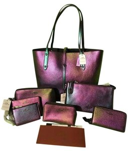 Coach Hologram Complete Set Sold Out Tote in Hologram bright