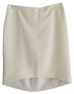 Express Work Skirt Winter White