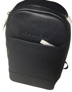 Coach 54135 Charles Slim Leather Midnight Blue Backpack