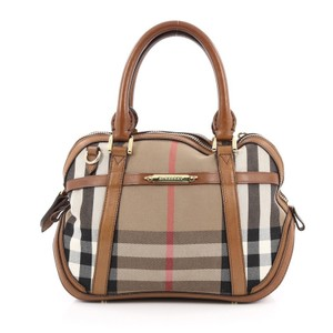 Burberry Canvas Orchard Satchel