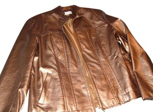 Erin London Jacket Top Gold
