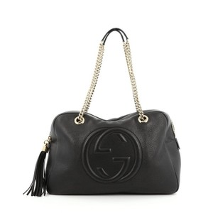 ca458a6209e4 Gucci Soho Chain Zipped Medium Leather Shoulder Bag - Tradesy