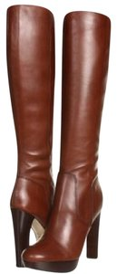 Michael Kors Leather Knee-high Brown Boots