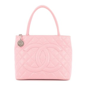 Chanel Caviar Tote in Light Pink