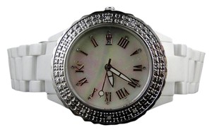 Techno Com by KC Womens/Ladies Techno Com Kc Ceramic Diamond Watch