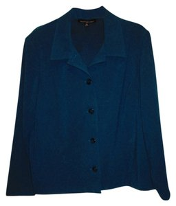 Briggs of New York turquoise Blazer
