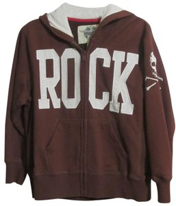 Wes & Willy Spring Fall Jacket Boys Size 6 & Rock Logo Hoodie Jacket