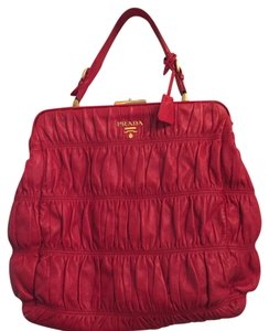 Prada Satchel in Red