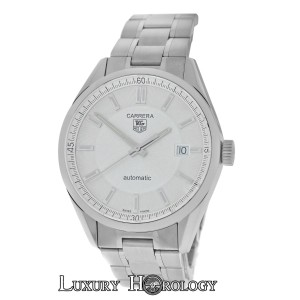 TAG Heuer Mint Authentic Men Tag Heuer Carrera WV211A-0 Steel Date Automatic