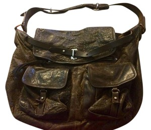 AllSaints Satchel in Dark Brown