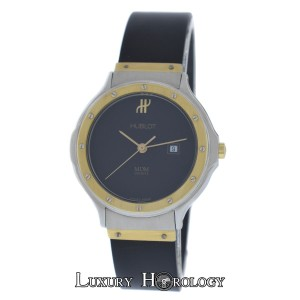 Hublot Ladies Unisex Hublot MDM Geneve Classic 1401.2 Steel 18K Gold Quartz