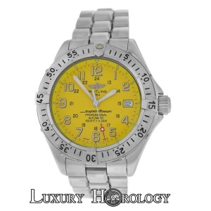 Breitling Men's Breitling SuperOcean A17345 Stainless Steel 5000 Feet Automatic