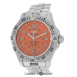 Breitling Men's Breitling SuperOcean A17360 Stainless Steel 1500M Divers Automat