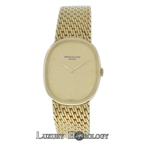 Patek Philippe Mint Men's Patek Philippe Ellipse 3848/8 18K Yellow Gold Mechanical