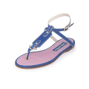 Dsquared2 2 Espadrilles Ds2 Summer Thong Blue Sandals