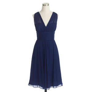 J.Crew Dark Cove J. Crew Ava Dress In Dark Cove Size 00 Petite Dress Dress