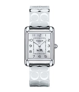 Coach Coach Signature Stainless Bangle Bracelet Page Womens Watch 14502159