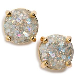 Kate Spade kate Spade glitter gumdrop earrings studs
