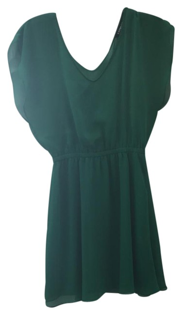 Item - Green Id # 506352 Short Night Out Dress Size 8 (M)