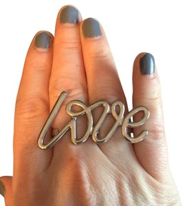 Nordstrom LOVE double ring