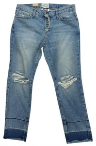 Current/Elliott Boyfriend Cut Jeans-Distressed