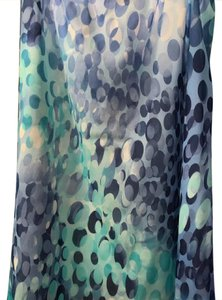 Delmod Skirt floral blues