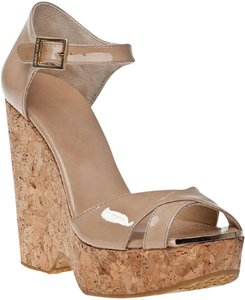 Jimmy Choo Nude Wedges