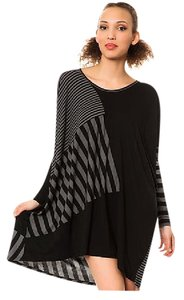 Other Eclectic Striped Knit Tunic