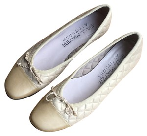 Paul Mayer Beige Flats
