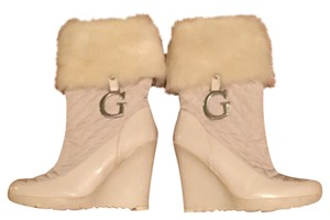 Guess By Marciano white. Boots