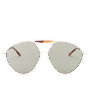 Valentino Women's Metal Runway Aviator Sunglasses