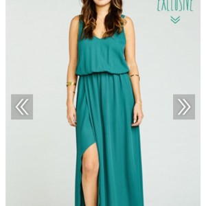 Show Me Your Mumu Hutch Green Crisp Kendall Maxi Dress Dress
