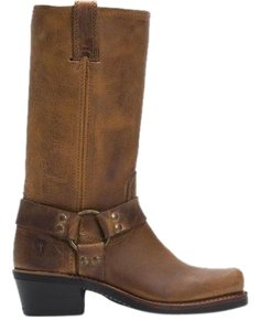 Frye Moto Harness Brown Boots