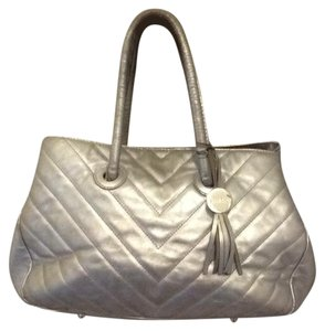 Furla Satchel in silver