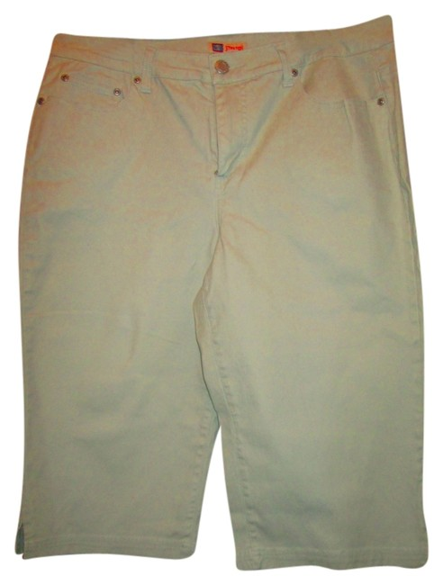 Faded Glory Capris Light sage green