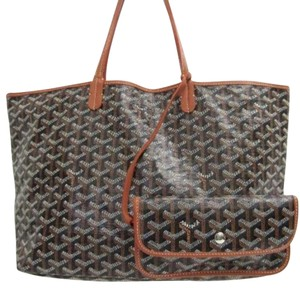 Goyard Tote in black / brown