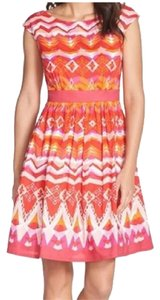 Anthropologie short dress Spring Fun Colorful on Tradesy