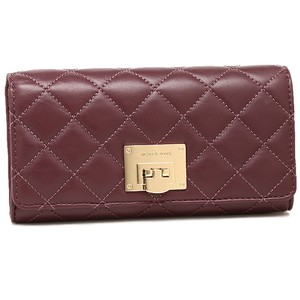 MICHAEL Michael Kors ASTRID CARRYALL QUILTED LEATHER LARGE CLUTCH WALLET